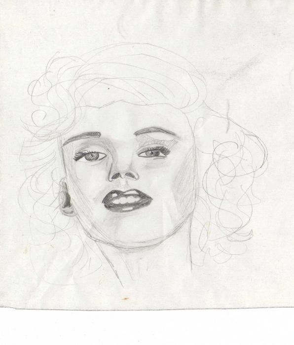 Marilyn Monroe by pearlipopette